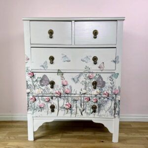 How to create a stunning floral chest of drawers