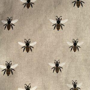 Beautiful bumblebee fabric