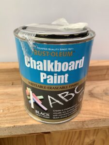 Brand of chalkboard paint