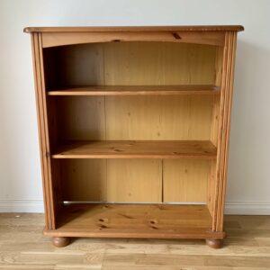 Original solid pine bookshelf