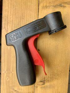 The spray paint handle