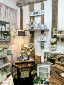 Tallulah Vintage Home's booth