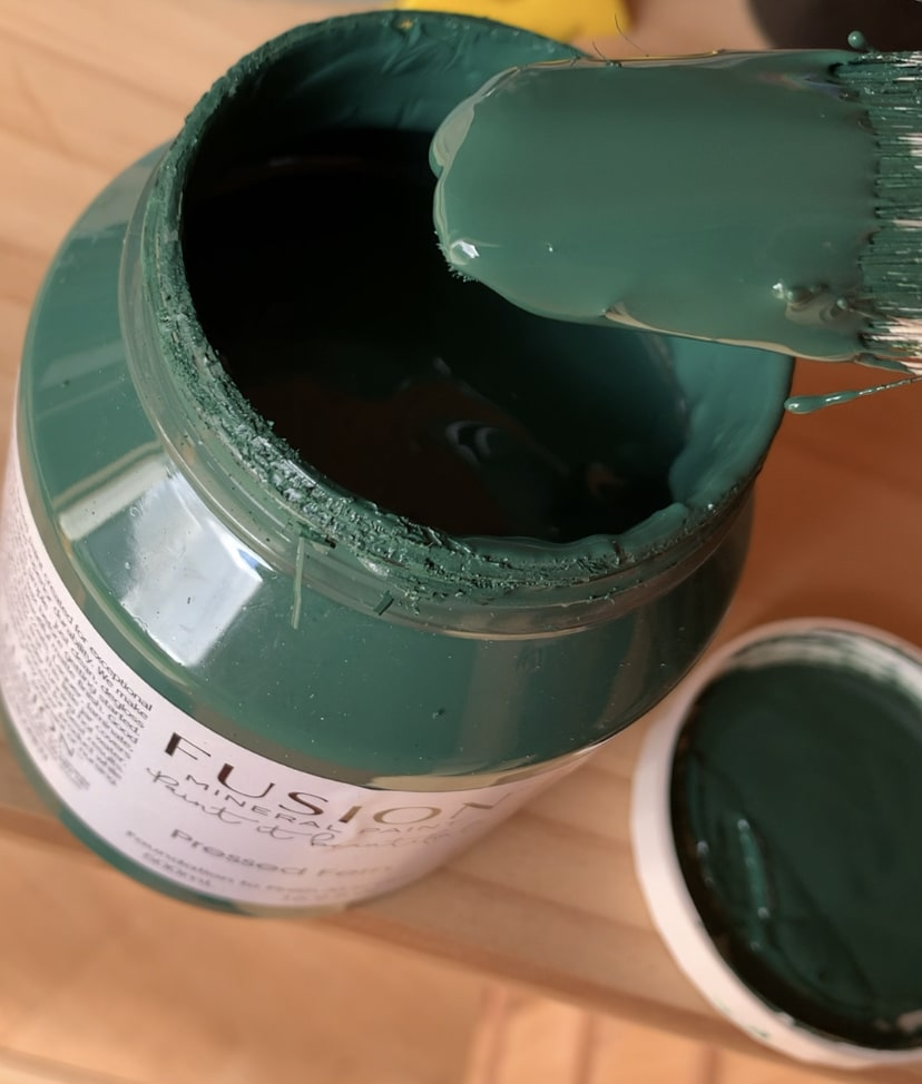 Paint to start upcycling